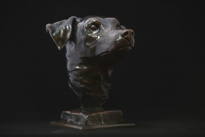 Jack Russell Bust